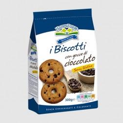 I Biscotti con gocce di cioccolato per celiaci