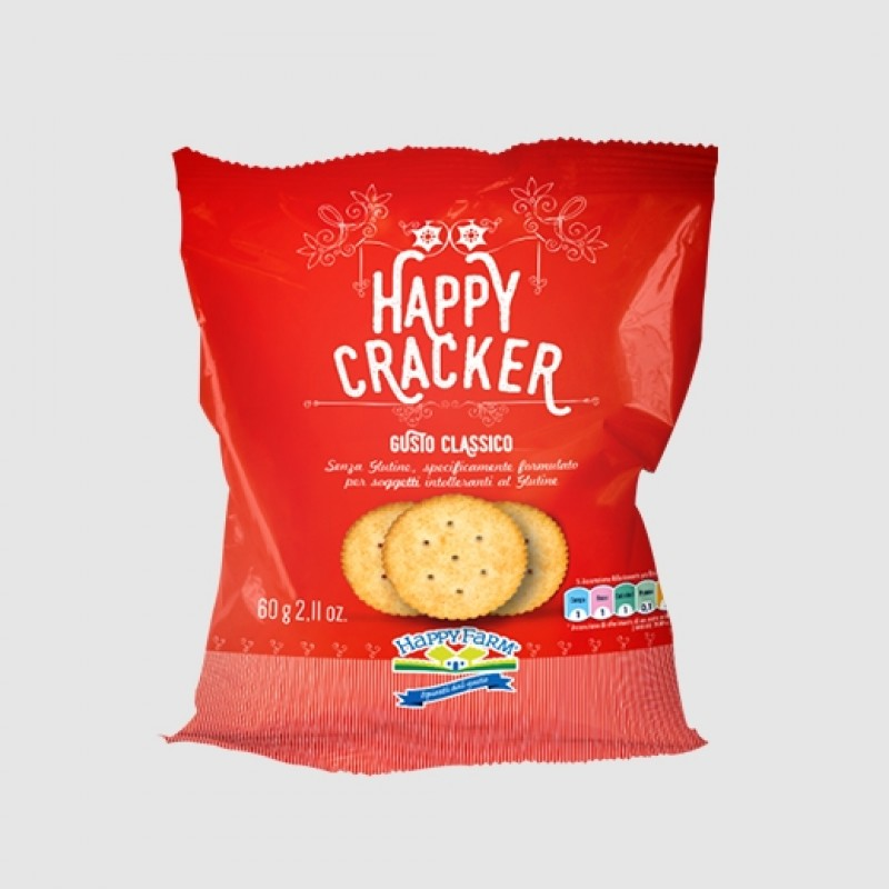 Happy Crackers classico per celiaci