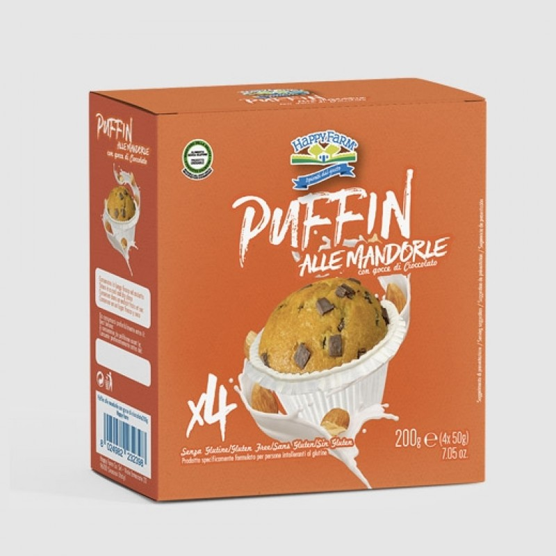 muffin alla mandorla per celiaci