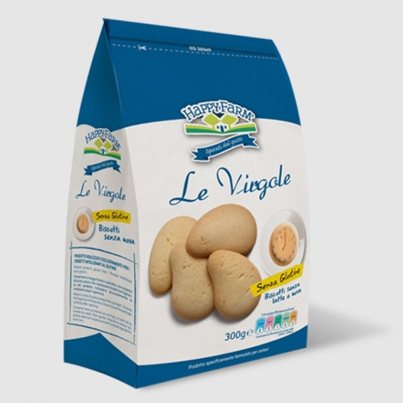 Le Virgole senza Latte e Uova